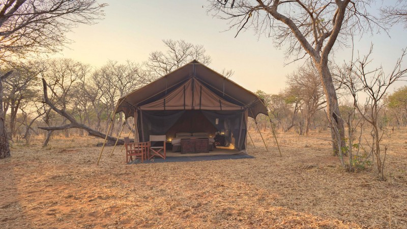 Botswana - Chobe National Park - andBeyond Chobe Under Canvas - Tent
