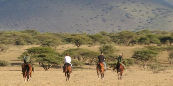 Kenya riding safari