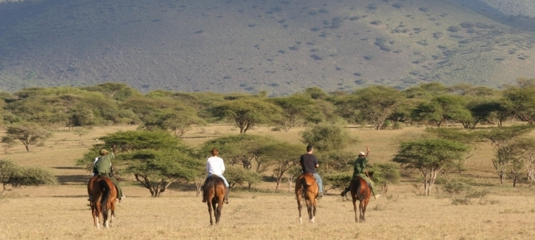 Kenya riding safari