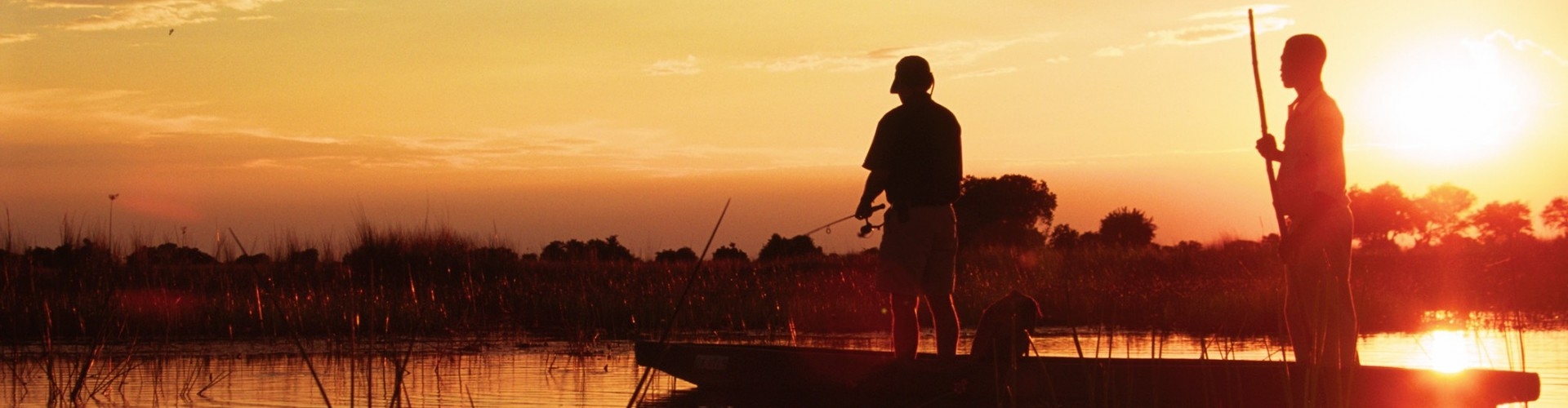 Africa - Botswana - Footsteps fishing