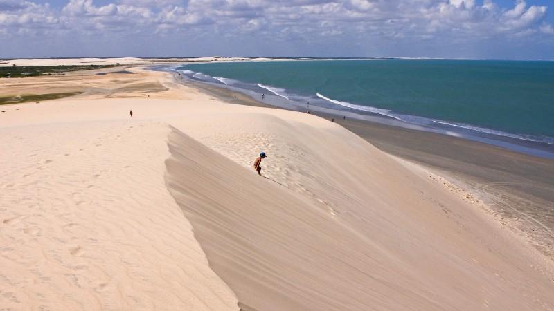 Jericoacoara dunes, Brazil