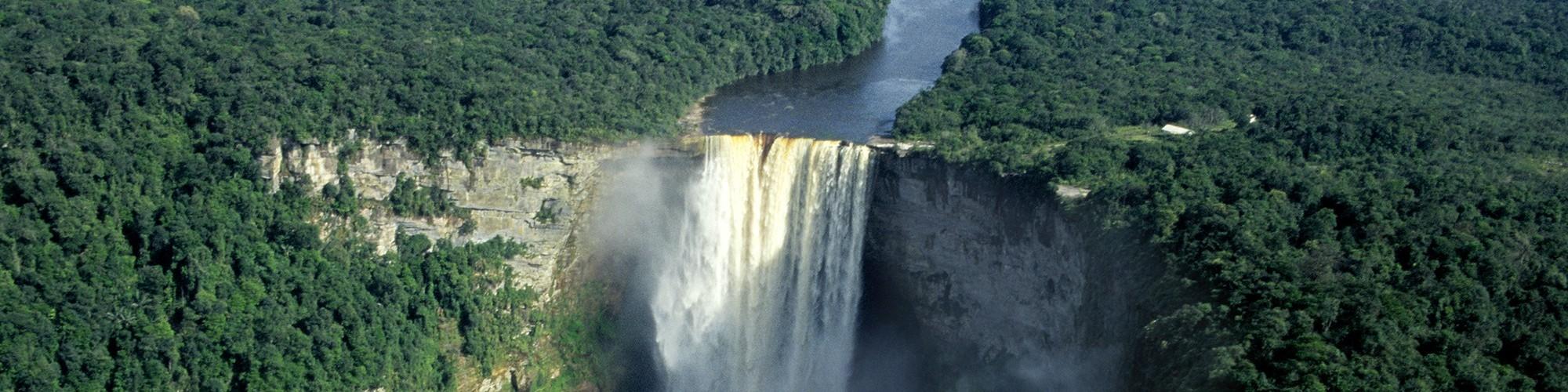 Kaieteur Falls, Guayna