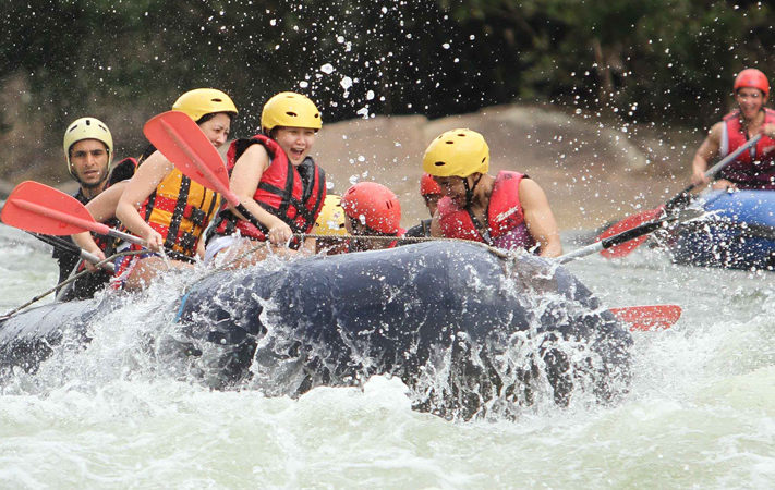 White water rafting on the Kelani River