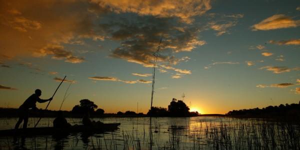 Okavango Okavanga delta - Michael Poliza