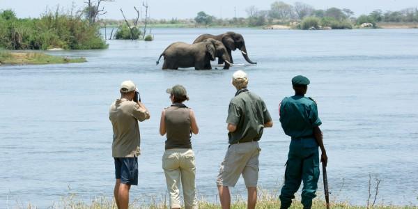 Walking safaris in Majete Wildlife Reserve