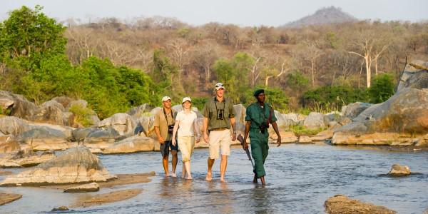 Cross the Mkulumadzi river