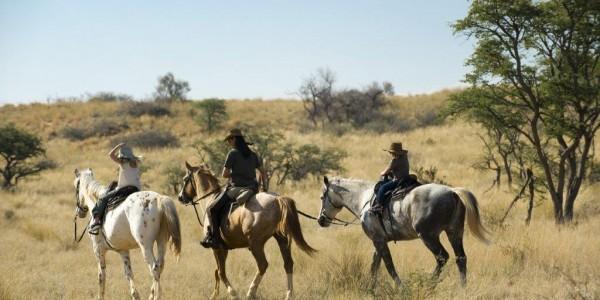 South Africa - The Kalahari - Horse Safari
