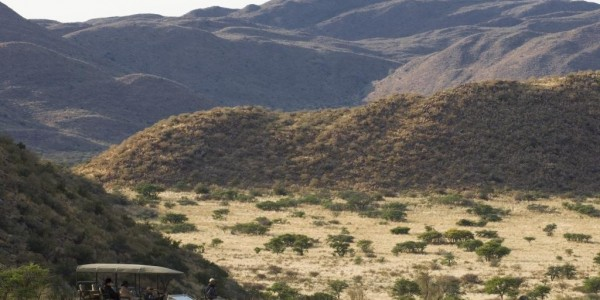 South Africa - The Kalahari - Private Vehicle