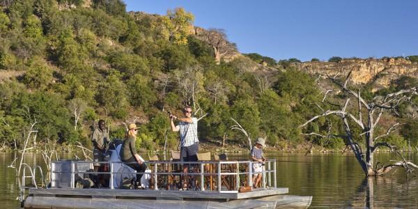 Zimbabwe - Malilangwe Private Wildlife Reserve - Fishing