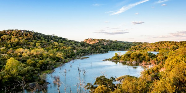 Zimbabwe - Malilangwe Private Wildlife Reserve - Lake