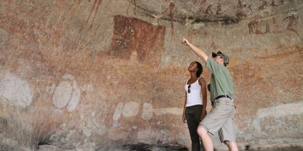 Zimbabwe - Matobo Hills National Park - Silosizwane Cave
