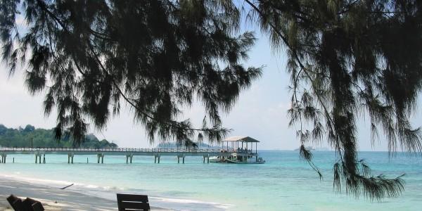 Sibu Island Beach Scene - Johore