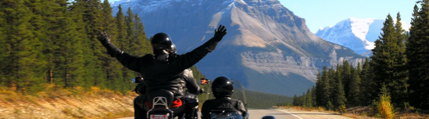 Touring in Jasper National Park