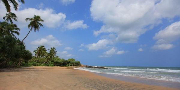 Deserted beach The Last House