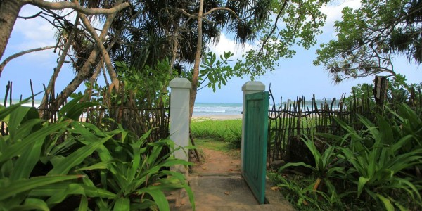 Gate to the Beach at the Last House