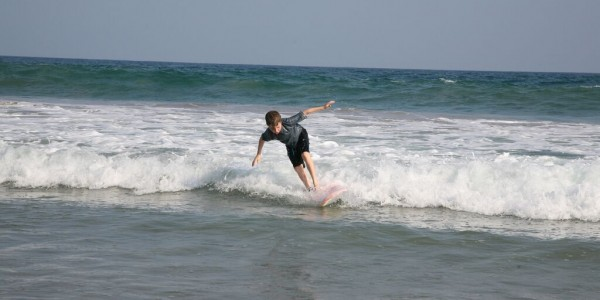 Surfing from the Last House
