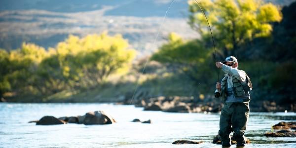 Fishing at Huechahue