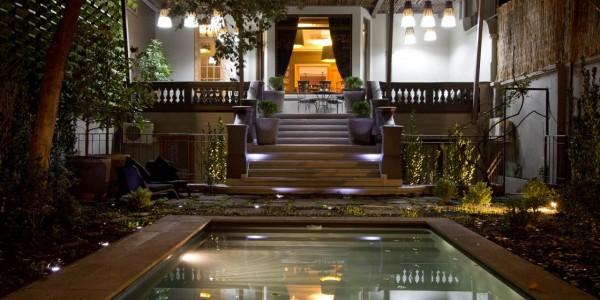 Chile - Santiago - Lastarria Hotel - Entrance