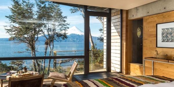 Chile - Santiago - The Lake District - Awa - Room