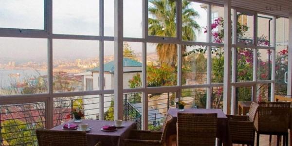 Chile - Santiago -Vina del Mar & Valparaiso - Hotel Zero - Restaurant