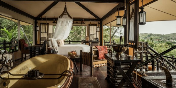 Thailand - Four Seasons Tented Camp - Tent