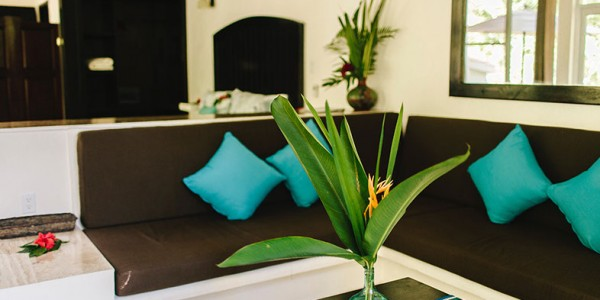 Belize - Cayo District - Black Rock Lodge - Lounge