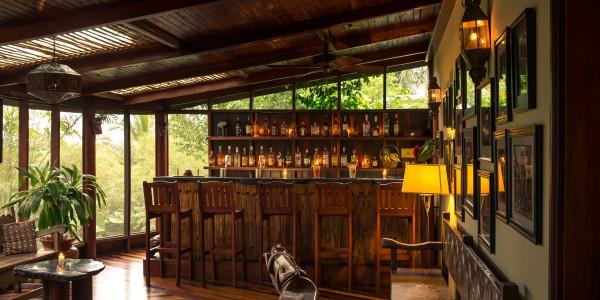 Belize - Cayo District - Blancaneaux Lodge - Bar