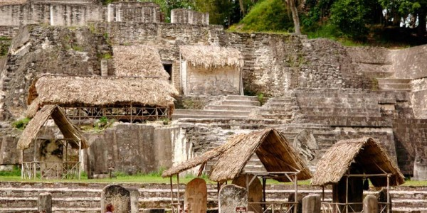 Belize - Cayo District - Chaa Creek - Ruins