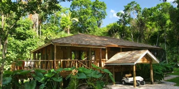 Belize - Orange Walk - Chan Chich Lodge - Cottage
