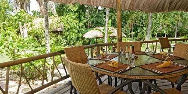 Belize - Orange Walk - Chan Chich Lodge - Restaurant