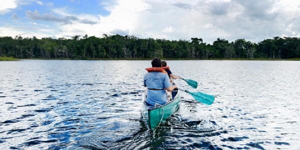 Belize - Orange Walk - Chan Chich Lodge - River