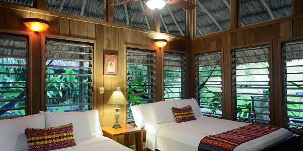 Belize - Orange Walk - Chan Chich Lodge - Room