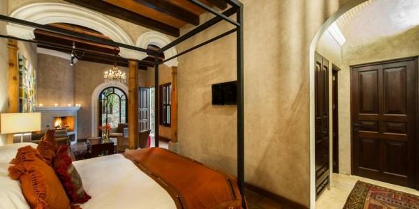 Guatemala - Antigua - San Rafael - Room