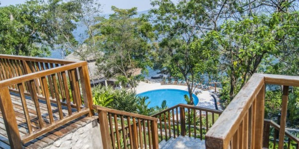 Guatemala - Flores & Tikal - Bolontiku - Pool