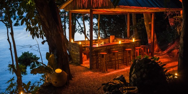 Guatemala - Flores & Tikal - La Lancha - Bar