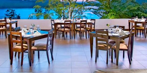 Guatemala - Flores & Tikal - Las Lagunas Hotel - Restaurant
