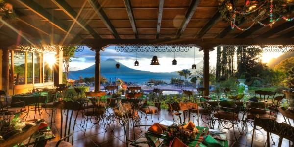 Guatemala - Lake Atitlan - Lake Atitlan Hotel - Restaurant