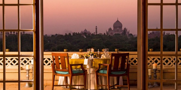 India - Agra & the Taj Mahal - Oberoi Amarvillas - Dining