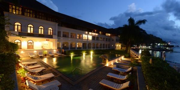 India - Cochin - Brunton Boatyard Hotel - CGH Earth - Pool