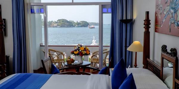 India - Cochin - Brunton Boatyard Hotel - CGH Earth - Sea Facing Room