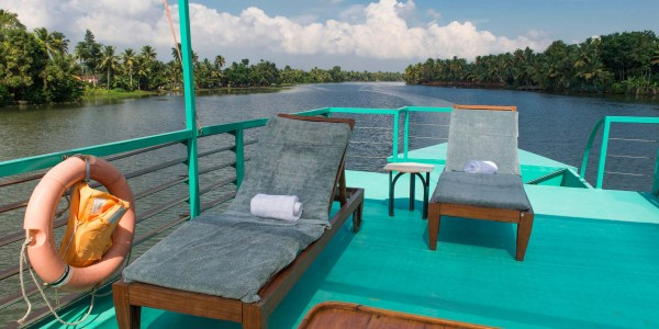 India - Kerala & The Backwaters - Discovery - Deck