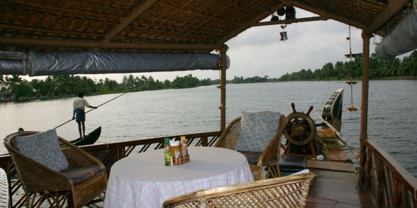 India - Kerala & The Backwaters - House Boats - Sauver Nigam - Deck