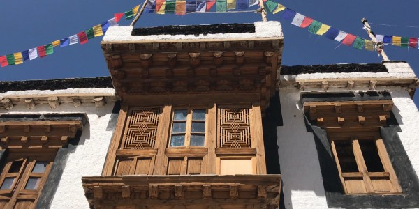 India - Ladakh - Nimmu House - Overview