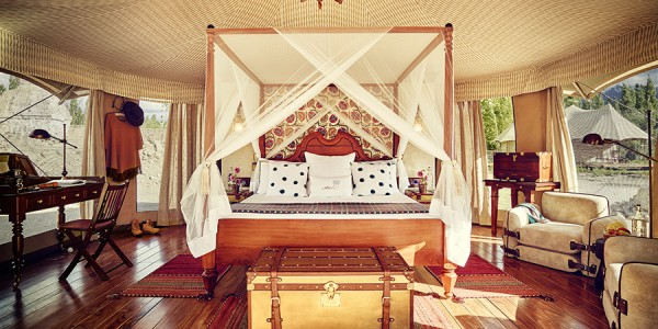 India - Ladakh - The Ultimate Traveling Camp Thiksey - Luxury Suite Tent