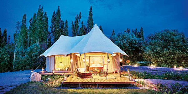 India - Ladakh - The Ultimate Traveling Camp Thiksey - Presidential Suite Tent