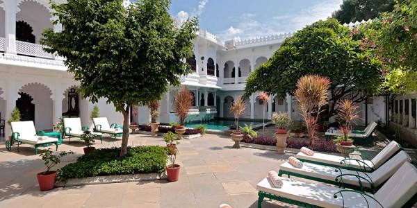 India - Rajasthan - Amit Haveli - Outside