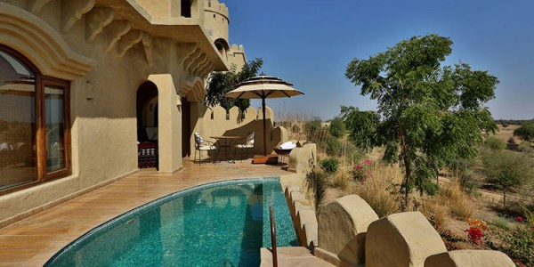India - Rajasthan - Mihir Garh - Pool