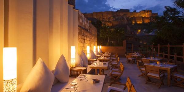 India - Rajasthan - Raas - Dining