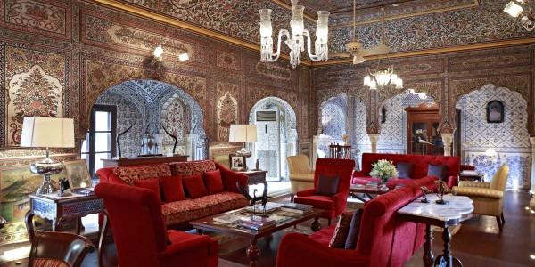 India - Rajasthan - Samode Haveli - Inside