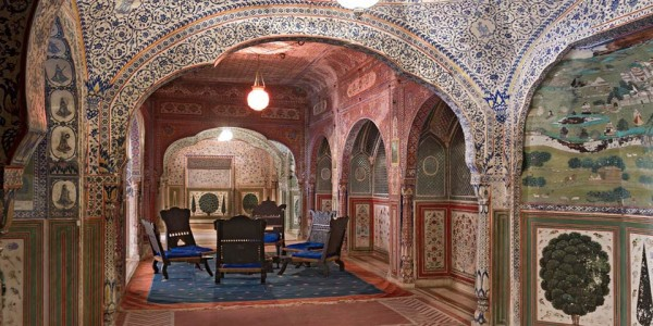 India - Rajasthan - Samode Palace - Inside